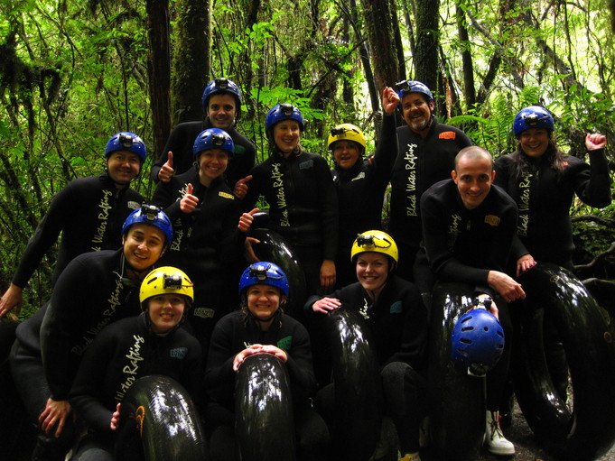 Waitomo Caves Black Water Raffting Ruakuri