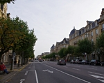 Avenue de la Liberté in Luxemburg - powrót na parking .