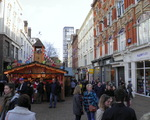 Birmingham -city centre -New Street- German Christmas Market