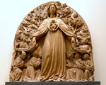 Victoria & Albert Museum Virgin of Misericordia  (year about 1440-1441) Venice, Italy