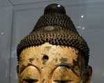 Victoria and Albert Museum- skarby Azji ang. Head of the Buddha (years 1368-1644), Ming dynasty ,China