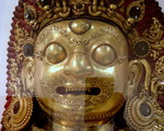 Victoria and Albert Museum- skarby Azji ang. Bhairava Mask , years 1600-1700 , Nepal
