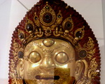 Victoria and Albert Museum- skarby Azji ang.Bhairava Mask , years 1600-1700 , Nepal