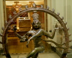 Victoria and Albert Museum- skarby Azji ang.The Hindu  God Shiva Nataraja,  years 1100-1200 ,Tamil Nadu ,Southern India