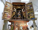 Victoria & Albert Museum The Brixen Altarpiece (year about 1500-1510)  Bressanone ,Italy