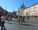 A to już Plac Navona (Piazza Navona)..